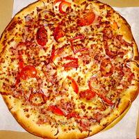 Töltött, rétegelt, dupla tésztás újévi lencsés pizza