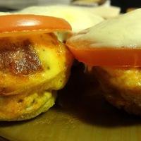 Kolbászos tojásmuffin