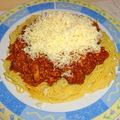 Vörösboros-gombás bolognai spagetti