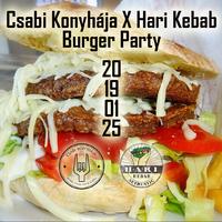 Csabi Konyhája X Hari Kebab Burger Party