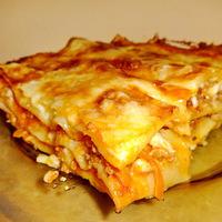 Egy jó kis lasagne, amivel lehetetlen mellélőni