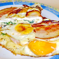 Bajnokok reggelije, avagy egy igazán ütős omlett variáns