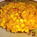 Kolbászos-kukoricás rizs