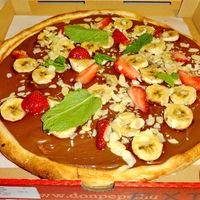 Nutellás-banános-epres pizza a Don Pepe aktuális őrülete!