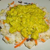 Currys-kapros tőkehalfilé