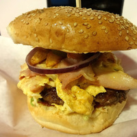 Burger Mustra #80 - Barney's American Diner, Sopron