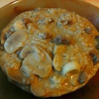 Mustáros-currys-gombás tarja