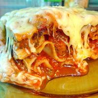 Kifejezetten jó lasagne a Don Pepe kínálatában!