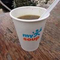 Itt jártam: my soup levesbár, Budapest (Római)