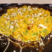 Sütőtökös-spenótos spagetti
