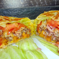Burgerito - a legjobb, ami egy hamburgerrel történhet tortilla lapba tekerve