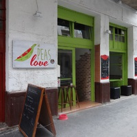 Itt jártam: Peas & Love, Budapest