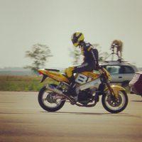 #TBT 2002.07.02. Borsay Szabolcs Guinness rekordja: hátrafelé motorozás 200,7 km/órával
