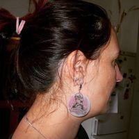 #tbt 2012.11.12. Már három éve kaptam ezt a gyönyörű csamos fülbevalót Edinától.