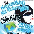 10. Nemzetközi Női Motoros Nap 2016. május 7.