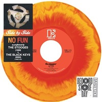 The Black Keys and The Stooges - Side by Side: No Fun 7''