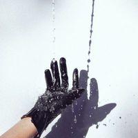 Captive - Black Leather Glove