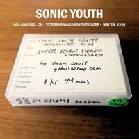 Sonic Youth - Live at the Veterans Wadsworth Theater, Los Angeles (2 CD, May 28, 1998)
