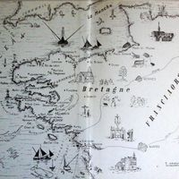 Könyvismertető - Világjárók útikönyvsorozat. - Ronald Millar: Tonhalászok közt Bretagne partjain.