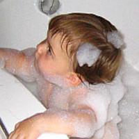 A babák fürdetése