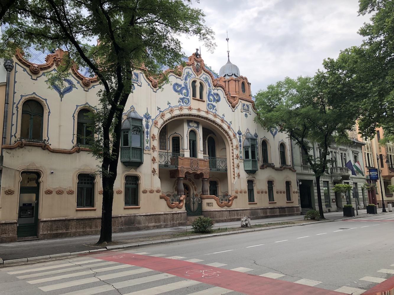 Szecessziós épület