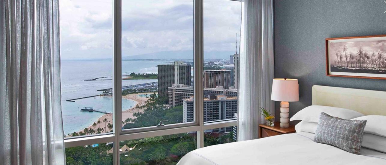 Trump Waikiki, kilátás a szobákból