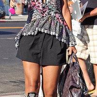 Casual celeb: Rihanna