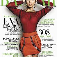 Eva Longoria a Harper's Bazaar címlapján