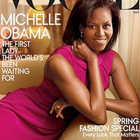 Michelle Obama, a címlaplány
