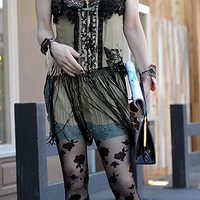 Casual celeb: Courtney Love