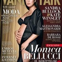 Címlapon a várandós Bellucci (update)