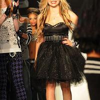 Avril Lavigne a kifutón