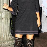 Casual celeb: Eva Longoria csipkecsizmában