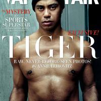 Tiger Woods a Vanity Fair címlapján