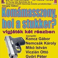 Koncz Gábor, Mikó István és Nemcsák Károly a Munkásotthonban