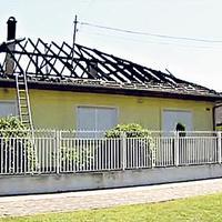 Tévedésből gyújtották fel a polgármester házát