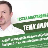 Tenk Andrást a saját pártja, az LMP nem engedi indulni Csepelen  jövőre az őszi önkormányzati választáson?