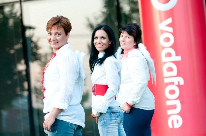 Mészáros Éva Vodafone angyal