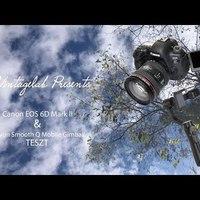Canon EOS 6D mark II és Zhiyun Smooth Q Mobil Stabilizátor teszt
