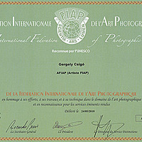 AFIAP Kitüntetés...