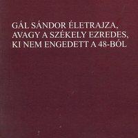 Gál Sándor életrajza: üzenet Nápolyból, 1861-ből (könyvismertető)