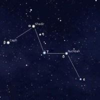 Csillagképek: Cassiopeia és családja