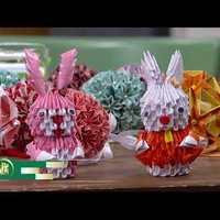 Csilla origami a Családbarát műsorában 2018