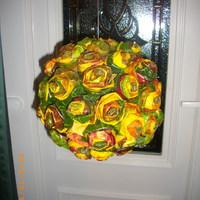 Őszi dekoráció: Levélrózsa leírása