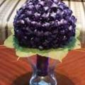 Origami liliom csokor