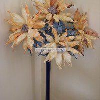 Őszi virág dekoráció napraforgó