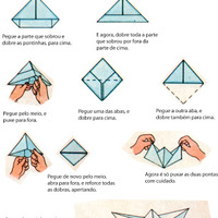Lépésről-lépésre origami hajó