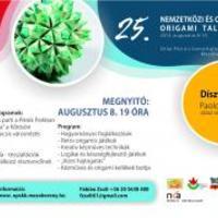 Nemzetközi és országos origami találkozó