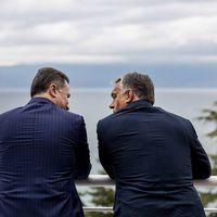 Sorostársak: Orbán és Gruevszki