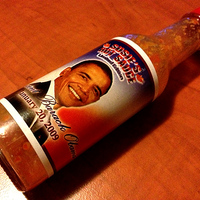 Susie's hot sauce - Barack Obama special edition
